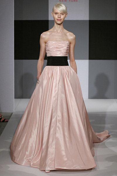 isaac mizrahi pink dress look 13