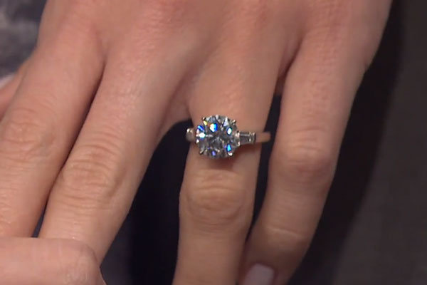 allison williams engagement ring