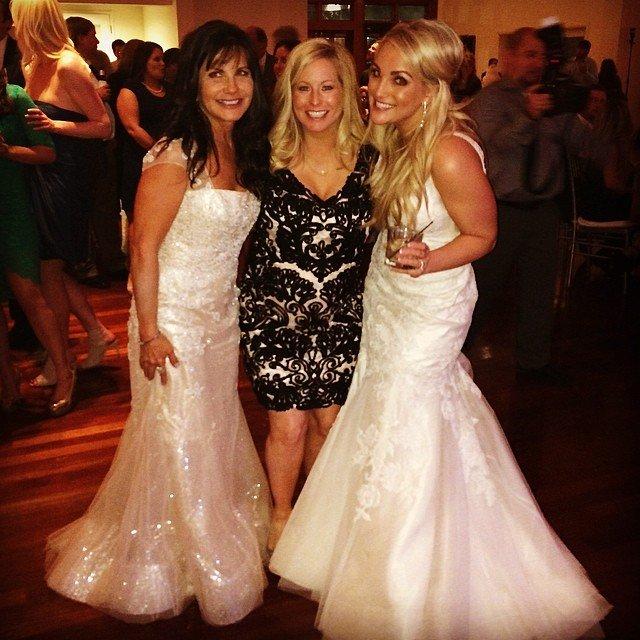 9e727dc87af Jamie Lynn Spears marries partner Jamie Watson in New Orleans ...