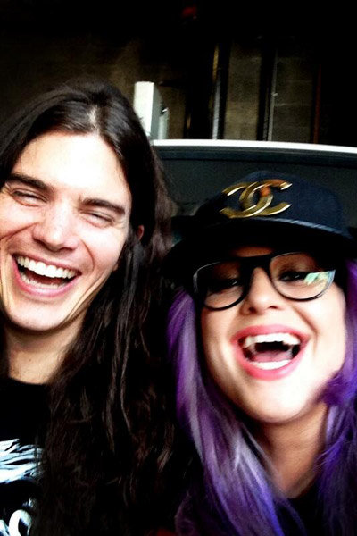 kelly osbourne and fiance matthew mosshart