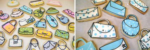 cinderellie sweets purse cookies