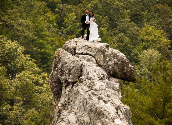 seneca rocks wedding