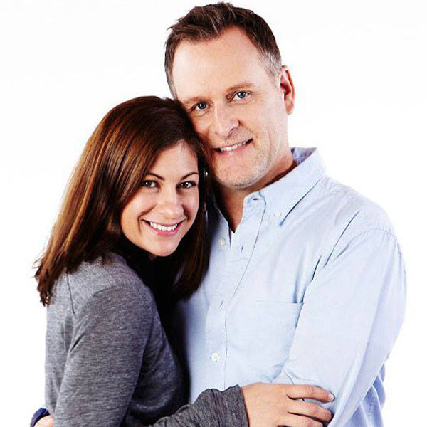 dave coulier and finace melissa bring