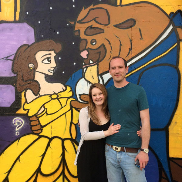 beauty and the beast mural proposal