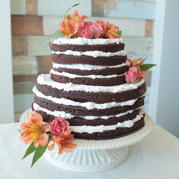Homemade Wedding Cake Ideas : Diy wedding cake ideas bridalguide