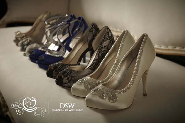 dsw cinderella glass slipper collection