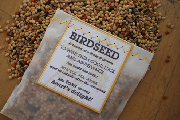 birdseeds for weddings