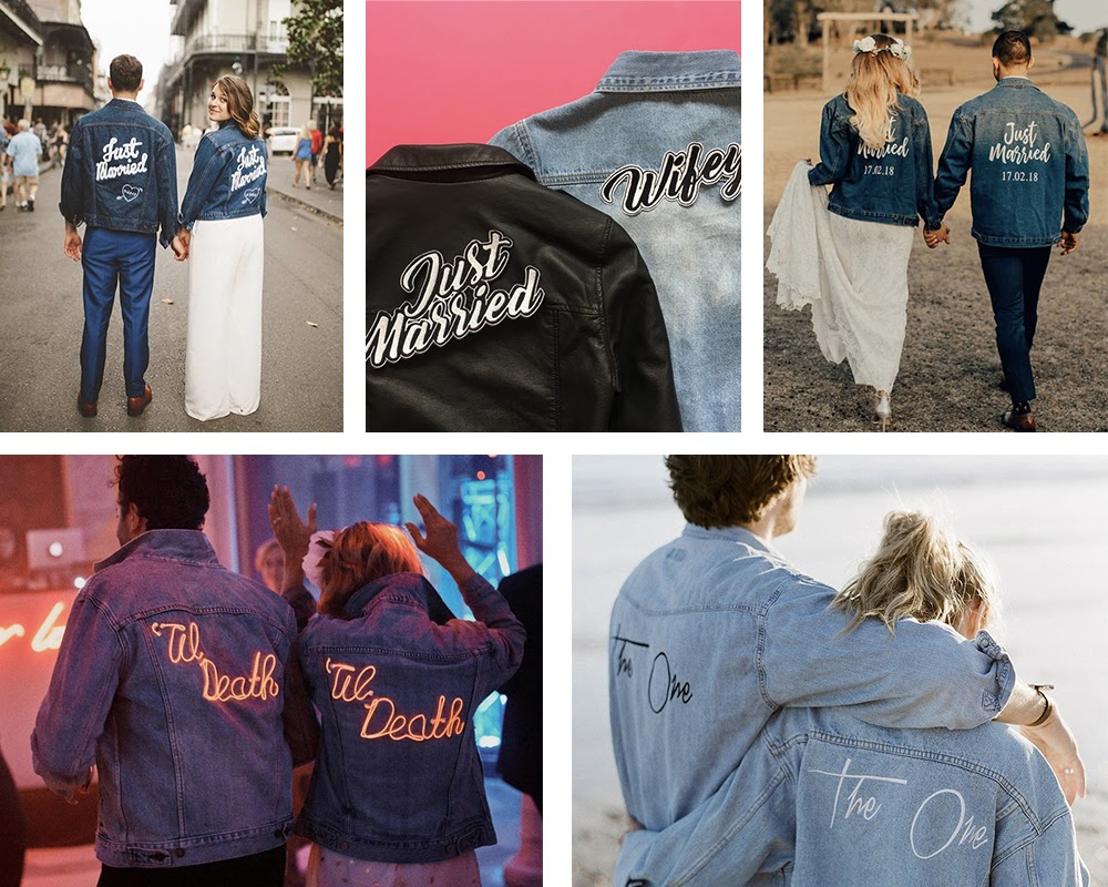 Wedding couples coats
