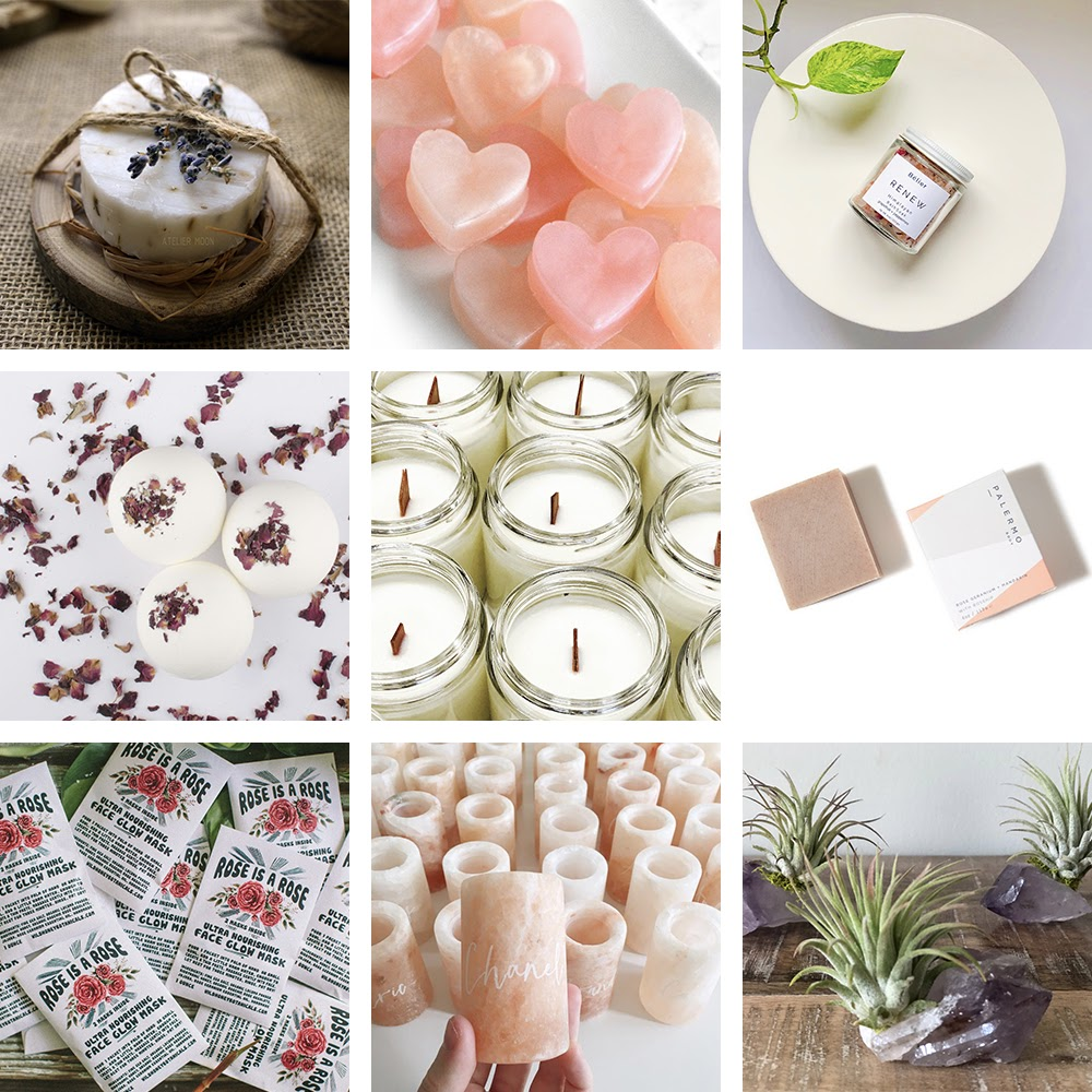 Wellness wedding favors