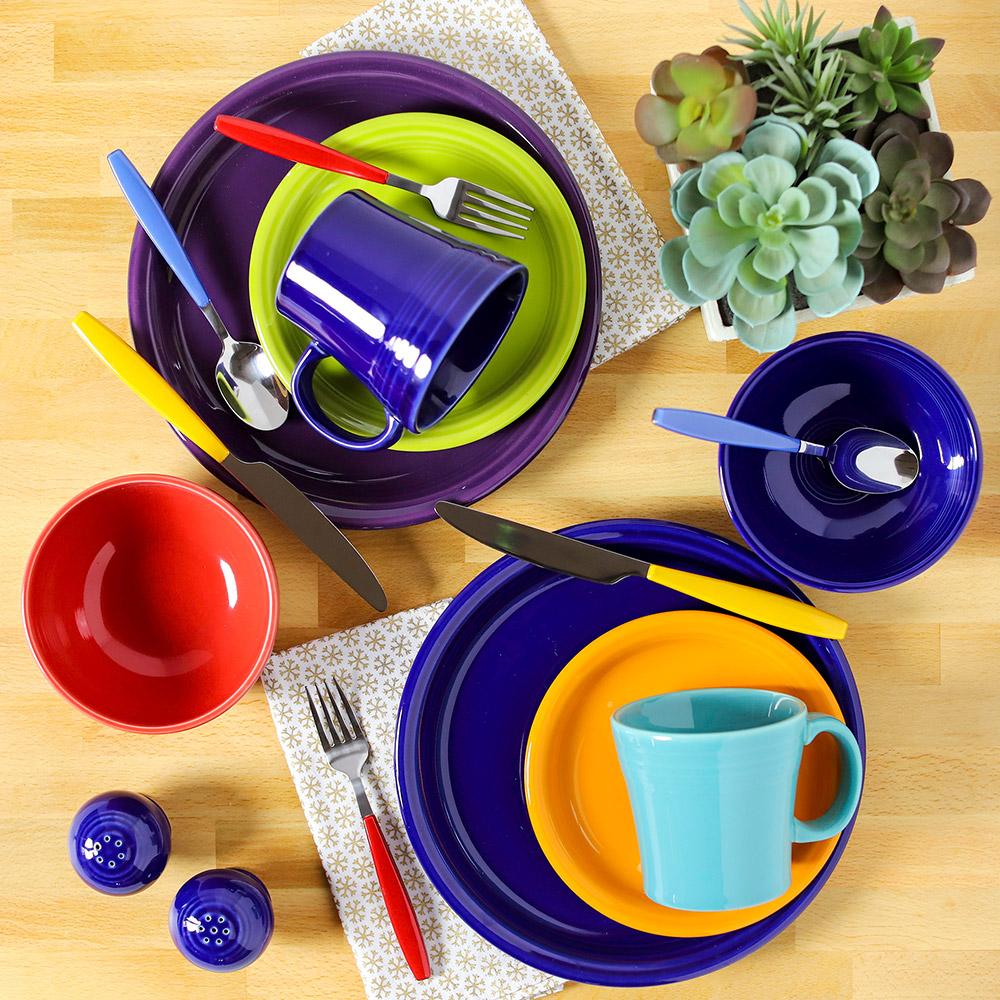 fiesta dinnerware mix and match