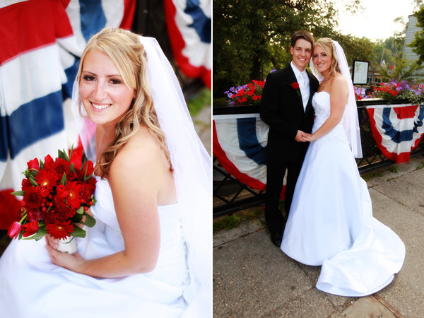 fourth of july wedding