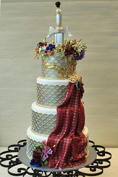 Wedding Inspiration Game Of Thrones BridalGuide - Lion King Wedding Cake