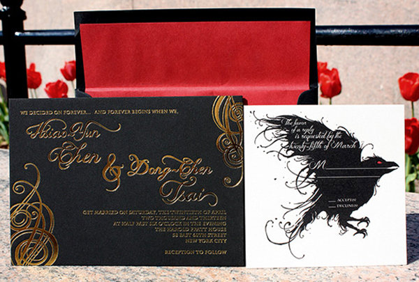 game of thrones wedding invitation