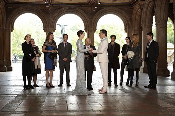 gossip girl series finale wedding