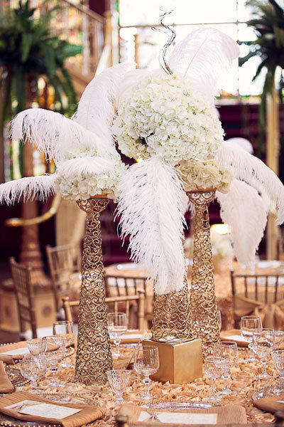 glamorous gatsbyinspired wedding ideas bridalguide