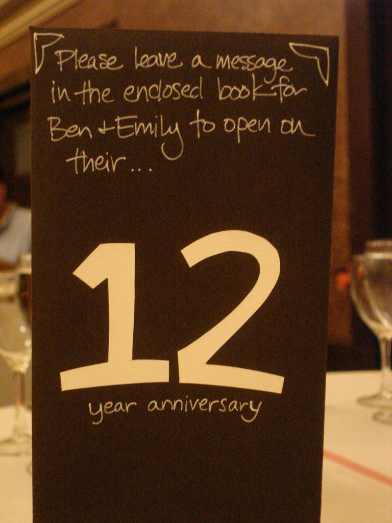 Creative Table Numbers You\'ll Enjoy for Years to Come! | BridalGuide