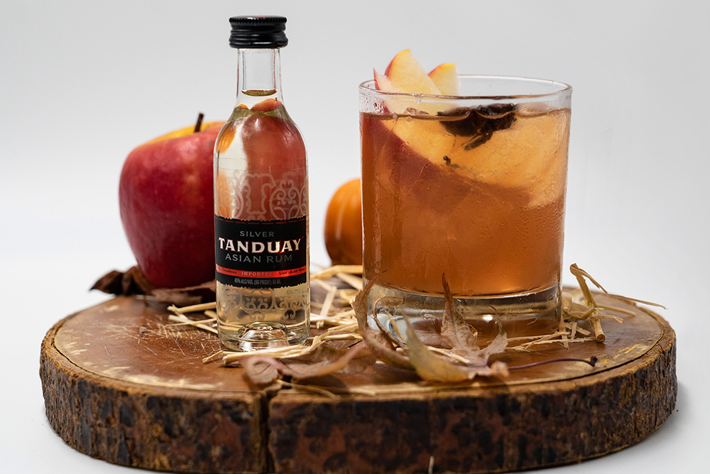 halloween signature cocktail tanduay fall classic