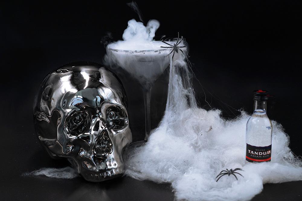 halloween signature cocktail tanduay zombie
