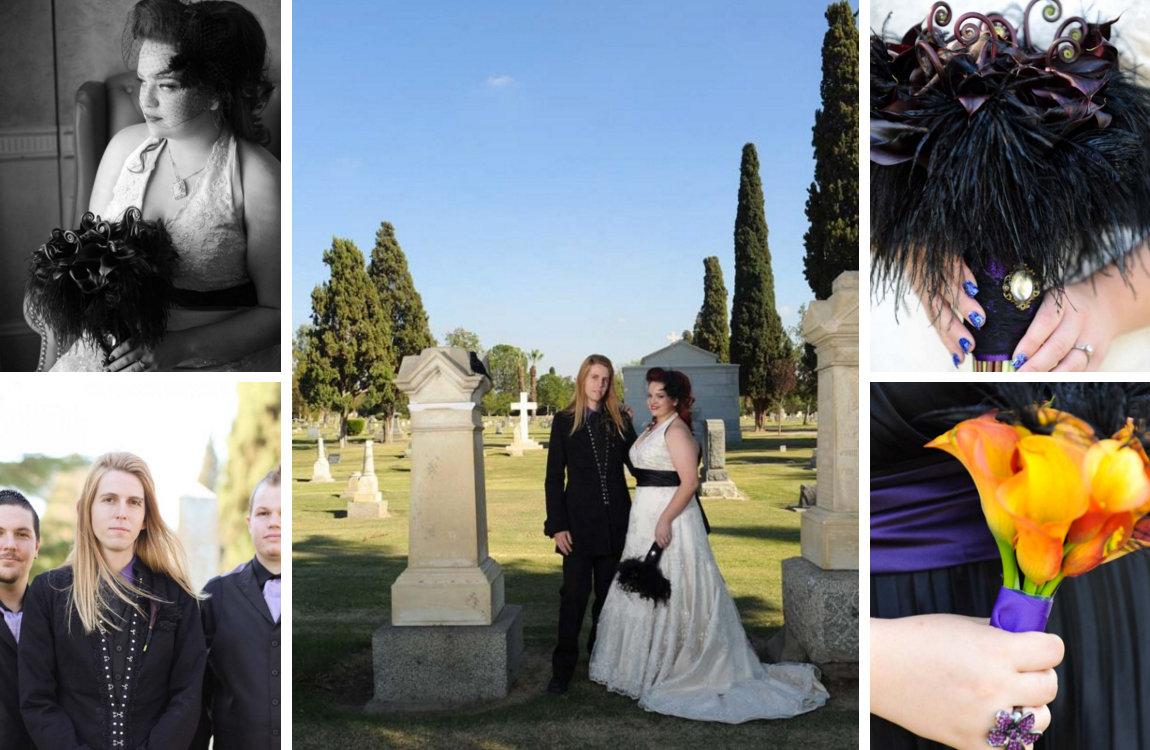 The Spookiest Halloween Weddings We've Ever Seen | BridalGuide