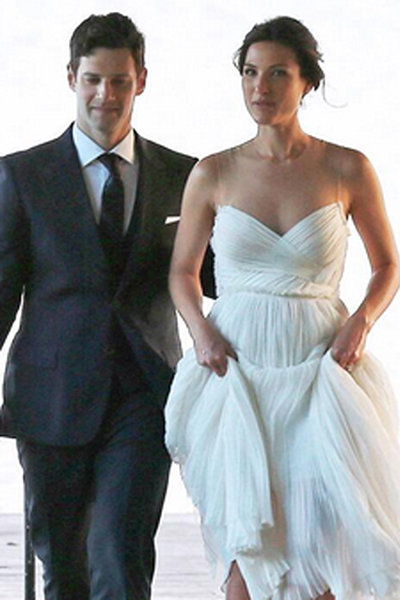 justin bartha lia smith wedding