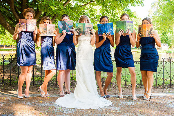Magical Harry Potter Inspired Wedding Photos Bridalguide