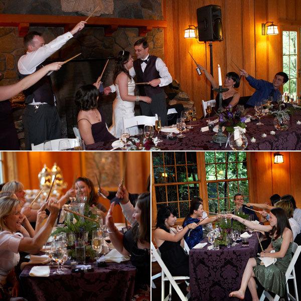 harry potter wedding wands