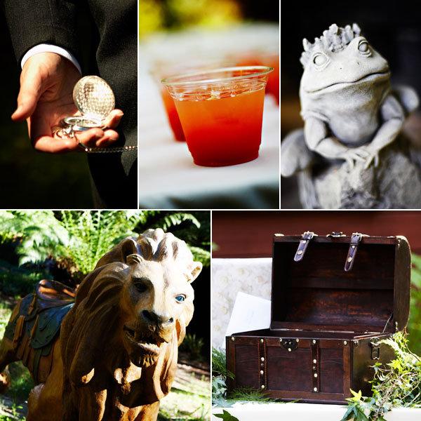 harry potter wedding details