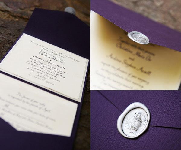 harry potter wedding invitation