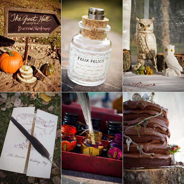 Amazing Harry Potter Inspired Weddings