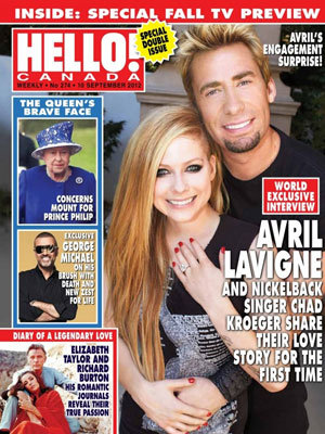 avril lavigne engaged to chad kroeger