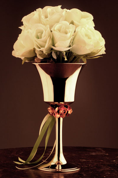 wedding bells vase