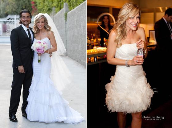 julie benz wedding