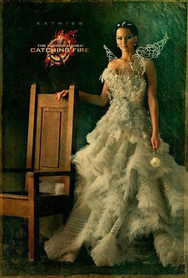 katniss everdeen wedding dress