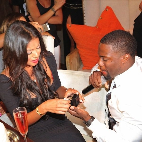 kevin hart engagement