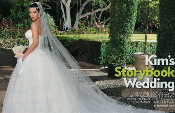 kim kardashian wedding dress people scans