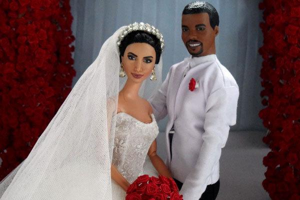 Wedding Inspiration: Kim Kardashian & Kanye West