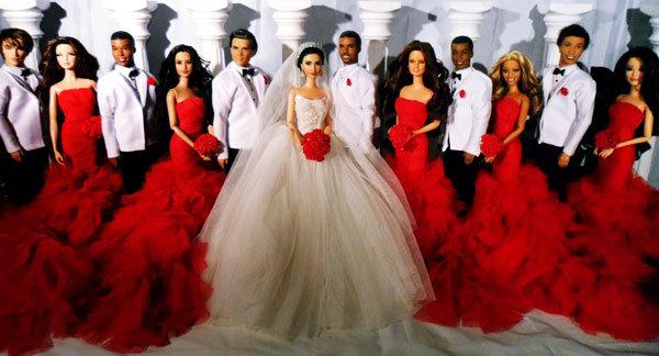 Kim kardashian kanye west wedding dress