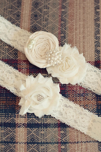 lace rose wedding belt