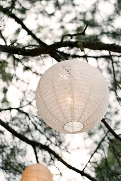 lace lantern lace wedding decorations