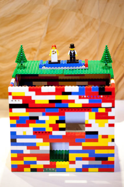 lego wedding decor