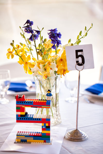 lego wedding table numbers