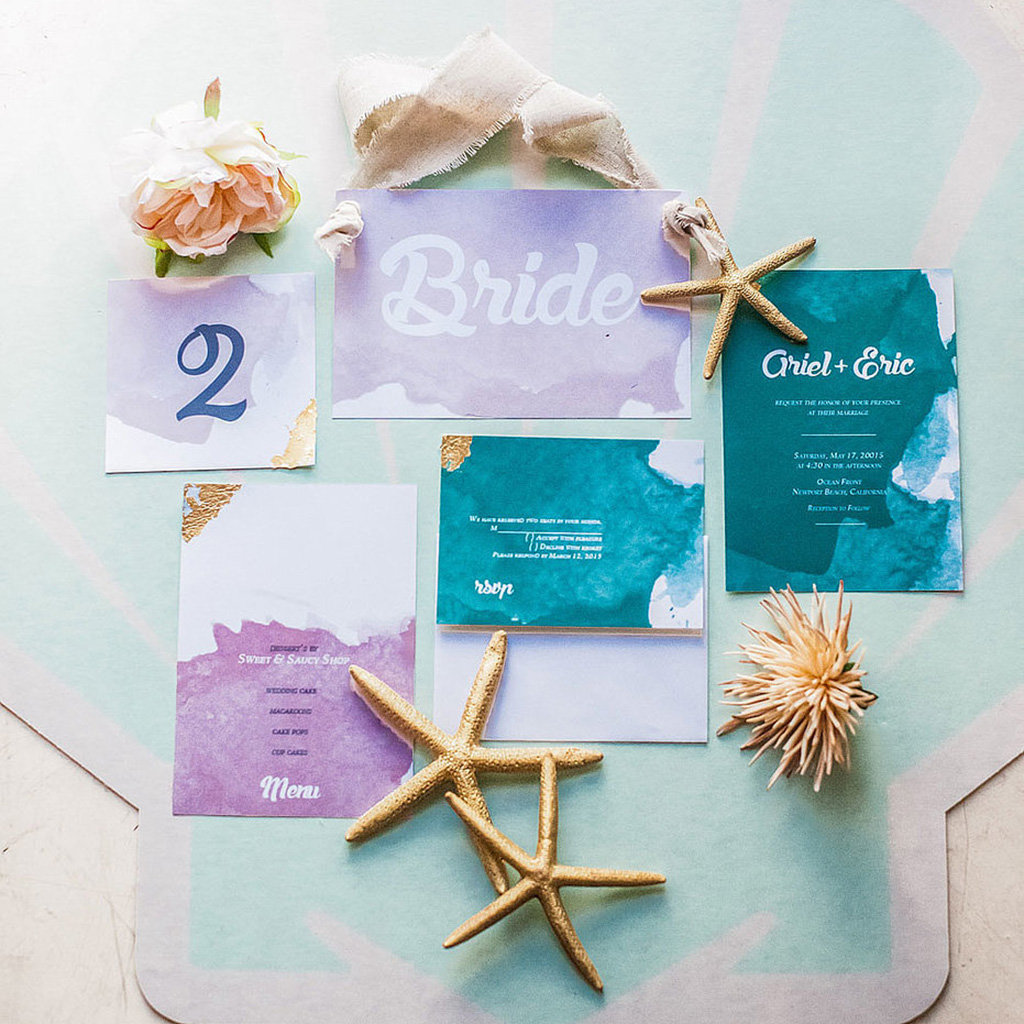 This Is The Little Mermaid Wedding Of Your Dreams Bridalguide