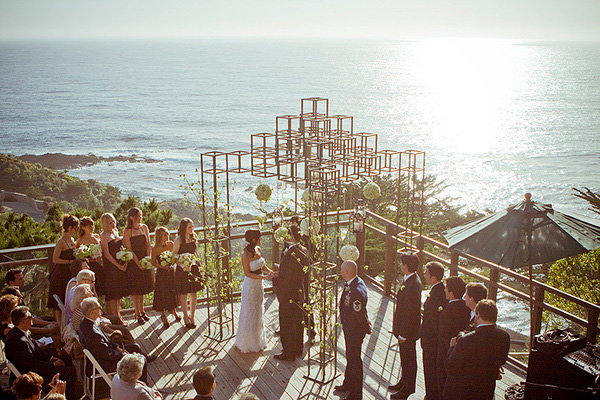 ocean wedding ceremony