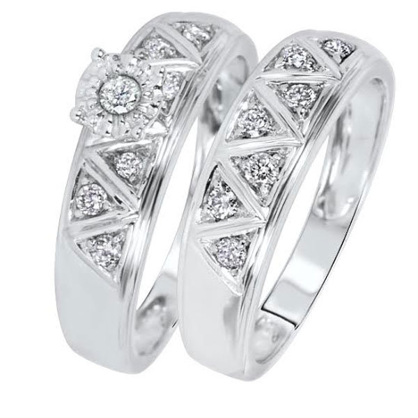 ring set under 500 form loverly - Wedding Rings Under 500