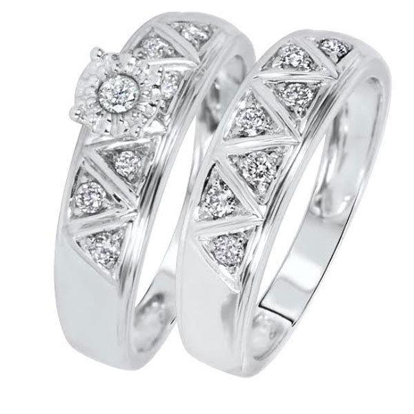 ring set under 500 form loverly - Wedding Rings Under 500