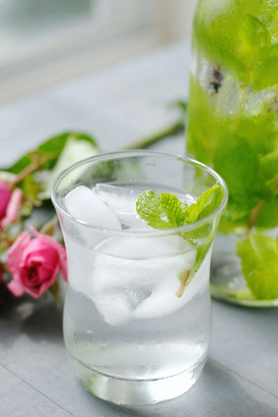 mint rose water