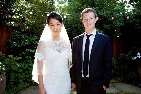 mark zuckerberg marries priscilla chan