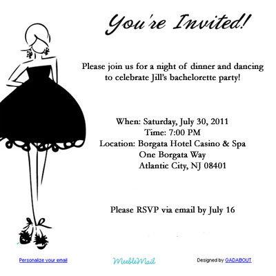 E Invite Templates. e invitation card template. free email invites ...