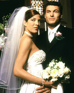 david and donna 90210 wedding