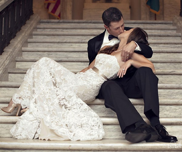 Romantic wedding pictures  The Most Romantic Wedding Photos | BridalGuide